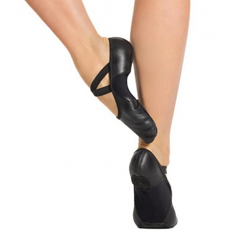 Hanami Leather Ballet BLK